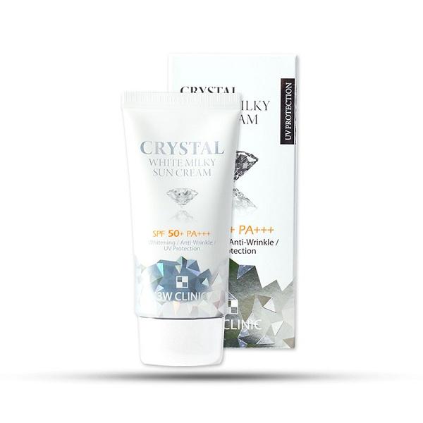 Kem Chống Nắng Dưỡng Trắng Da Crystal White 3W Clinic (50ml)149.000 VNĐ